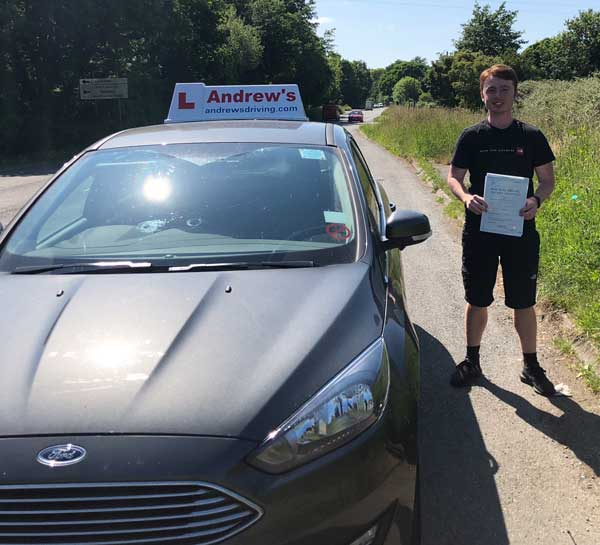 Will McCullough Llandudno Junction Driving Test