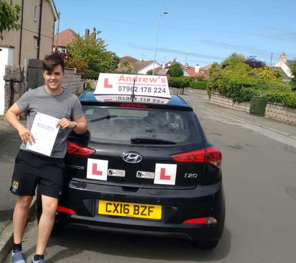 Luke's Driving lessons in Penrhyn Bay