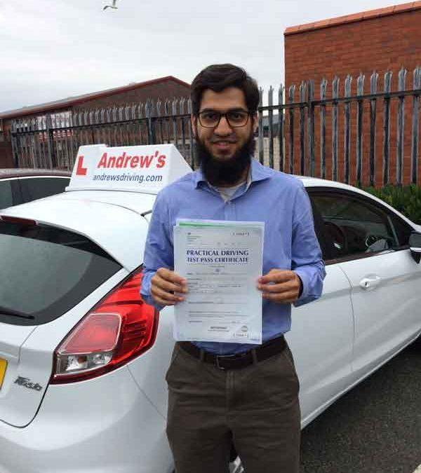 Dr Taha Haroon Rasul 1st time pass