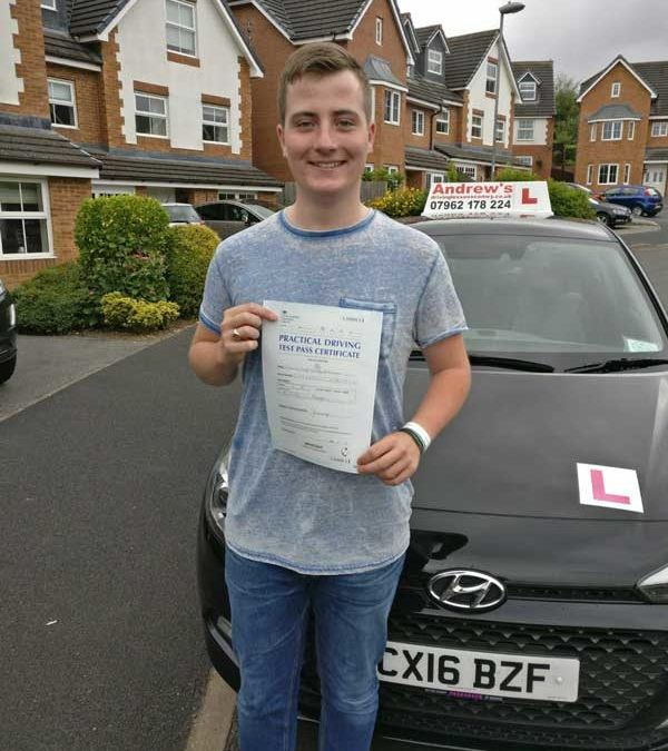 Edward From Deganwy Passed first time