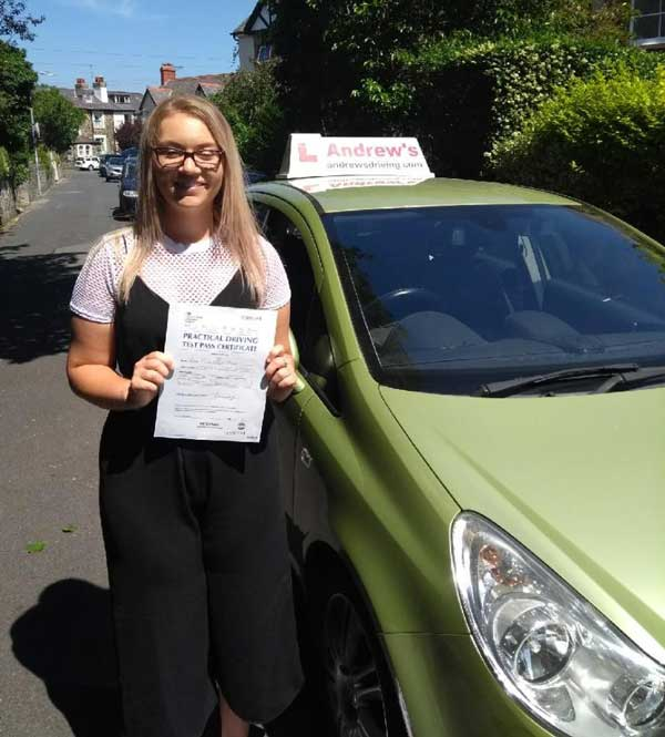First time Pass on the driving test