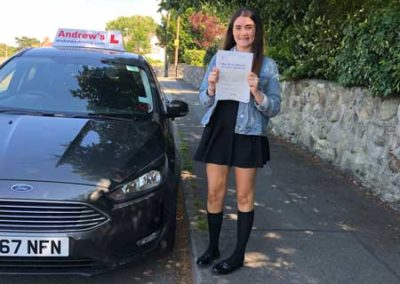 kara Michael passed in Bangor on
