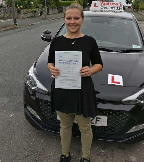 Cassandra passed in Bangor first time