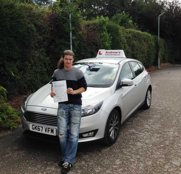 Dave's Extended driving test
