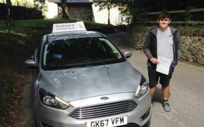 Lewis  1st time pass Penmaenmawr