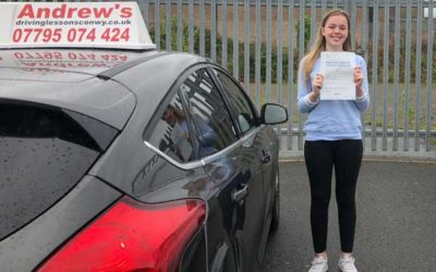 Lucy Williams passed first time