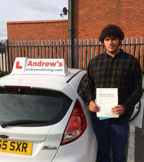 Nicholas driving lessons in Rhyl