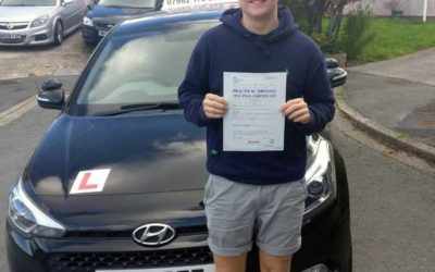 Kian from Rhos on Sea passed first time.