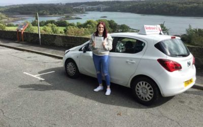 Lauren from Holyhead Passed first time.