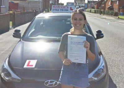Maisie-Jones-Abergele-Driving-test