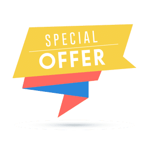 Special offer driving deal icon