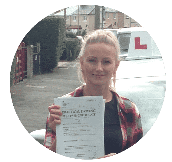 Ilona's review for Bangor driving school