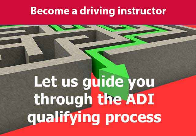 Become a Driving instructor infographic