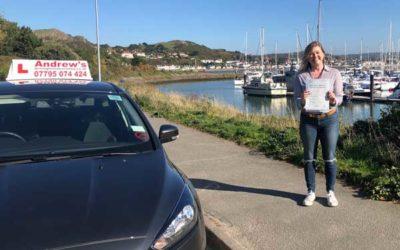 Lara Colwyn Bay passed first time