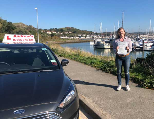 Lara Colwyn Bay passed first time