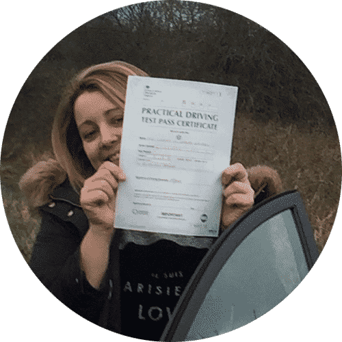 Linzi review of Abergele driving lessons