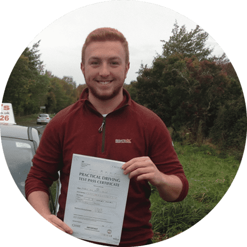 Markus passed with Intensive driving course