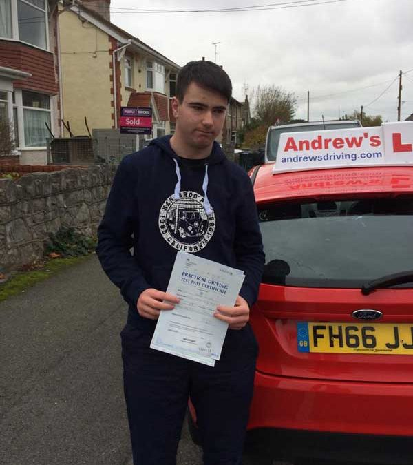 Dylan Davies  passed in Rhyl