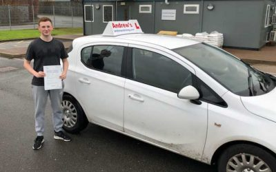 Bailey Loynd Holyhead passed first time