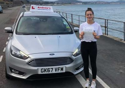 Mia price from Old Colwyn passed with just 2 minors