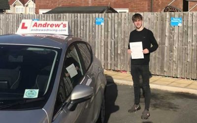 Brendan from Llandudno passed first time