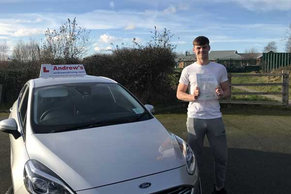 Kirk from Colwyn Bay  passed first time