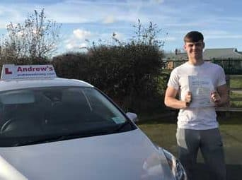 Kirk Brogan passed first time in Rhyl 1st February 2019.