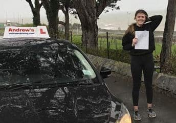 Molly fro Dwgyfylchi passed at Bangor  7th March 2019.