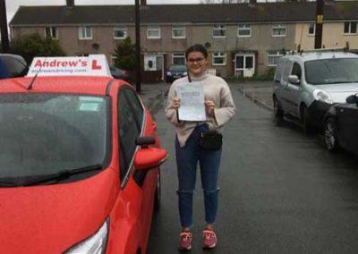Olivia-Harrington-driving-test