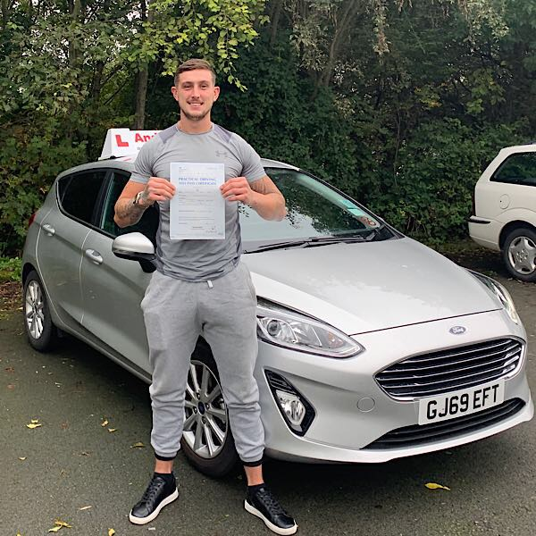 extended driving test north wales