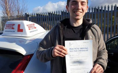 Jakob passed first time