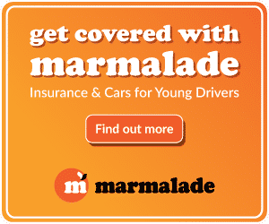 Marmalade young driver insurance link