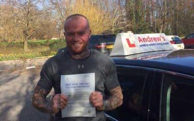 Tom Jones Wrexham Driving Test