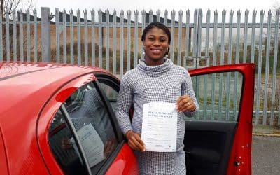 Yvonne's Automatic driving test