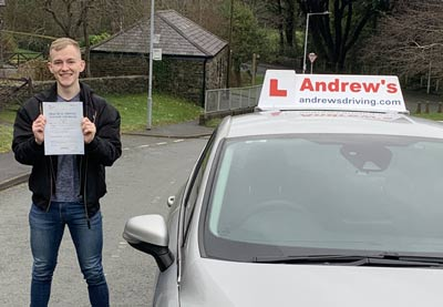 Newly qualified driving instructor.