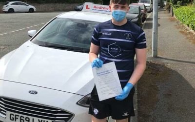 Fin Close emergency driving test