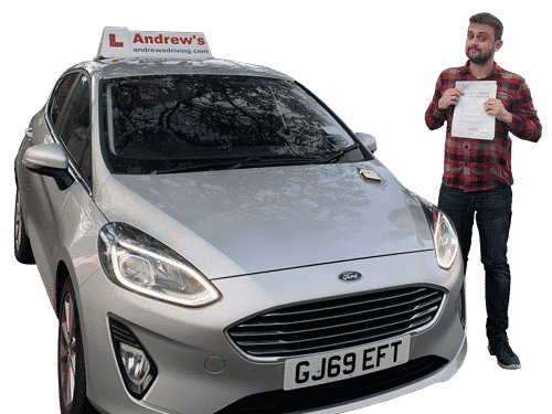 Automatic driving test passed