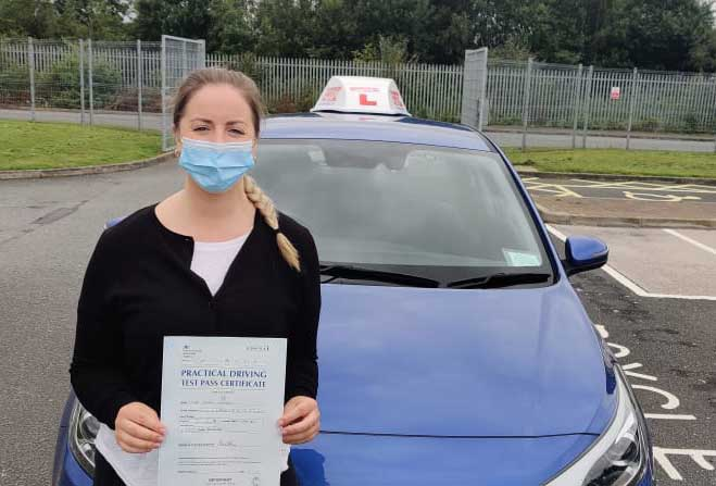 Ciara key worker driving test