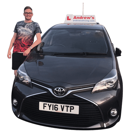 Local Driving Instructor with dual controlled car