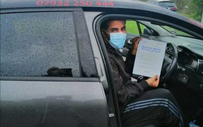 Fahad passed first time in Bangor