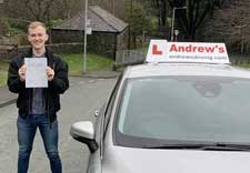 Passing after an intensive driving course