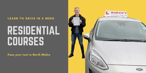 Residential driving course banner